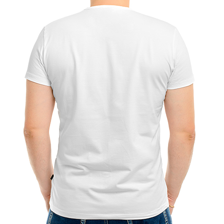 Мужская футболка хлопок
