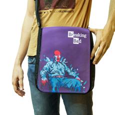 сумка на плечо с принтом