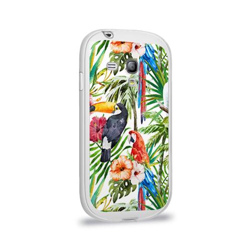 Чехол для Samsung Galaxy S3 mini силиконовый глянцевый