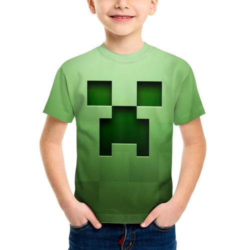 детская 3д футболка