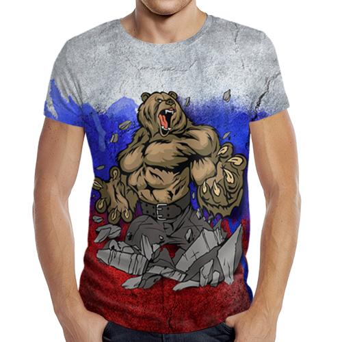 Мужская футболка c полной запечаткой