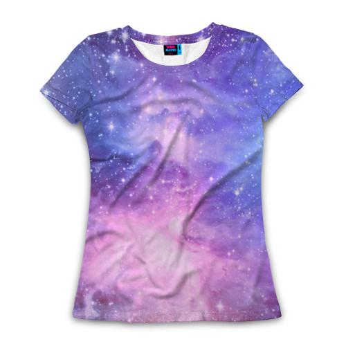 Женская футболка с полной запечаткой