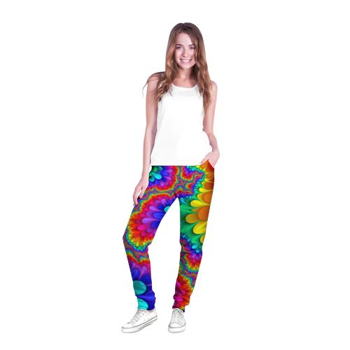 Женские брюки 3D с полной запечаткой