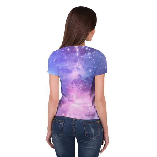 Женская футболка полной запечатки